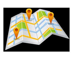 epillars location map